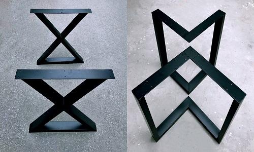 Chân bàn sắt nghệ thuật