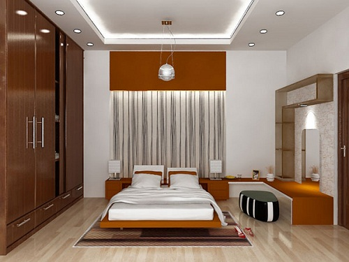 trần giật cấp phòng ngủ