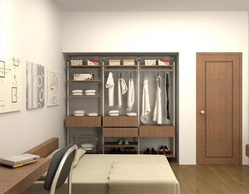 tủ âm tường phòng ngủ