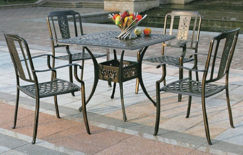 bàn ghế sắt hộp đẹp
