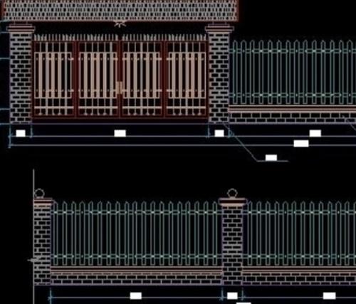 thiết kế hàng rào đẹp